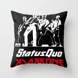 status quo backbone european tour 2020 muncrat Throw Pillow