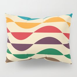 Summer waves Pillow Sham