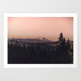 Mountain Morning IV Art Print