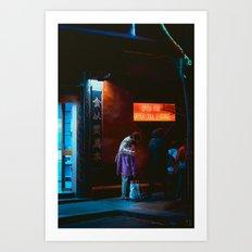 Let's Go Home, Chinatown, Melbourne Art Print