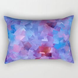 Blue Raspberry Cubes Rectangular Pillow