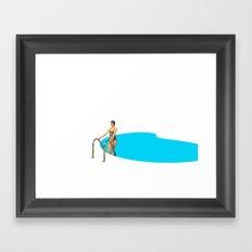 Swimming Pool #3 Framed Art Print