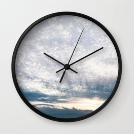 BLUE MOON XIX / Alviso, California Wall Clock