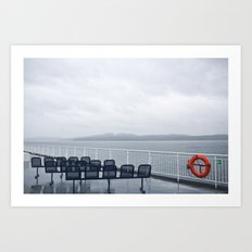 ferries Art Print