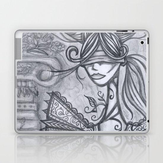Blind Sensibility (Sketch) Laptop & iPad Skin