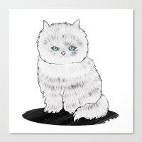 grumpy Canvas Prints featuring grumpy by manje