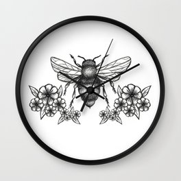 give me some sugar, little honey bee Wall Clock