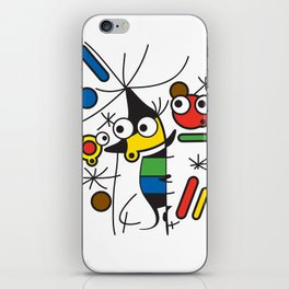 Ooh Zoo – art-series, Miro iPhone Skin