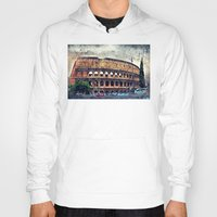 rome Hoodies featuring Colosseum Rome by jbjart