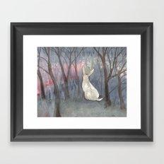 Forest Dawn Framed Art Print