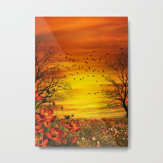 Meadow Metal Print