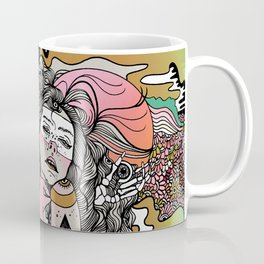Eye Tried Coffee Mug
