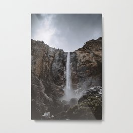 Bridalveil Fall Yosemite Metal Print