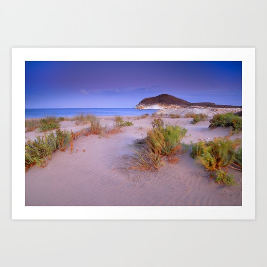 """Windy sunset at the paradise"" Art Print"