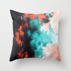 Painted Clouds VII (Phoenix) Throw Pillow