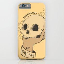 to sleep iPhone Case