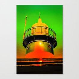 Lighthouse romance 100 Canvas Print