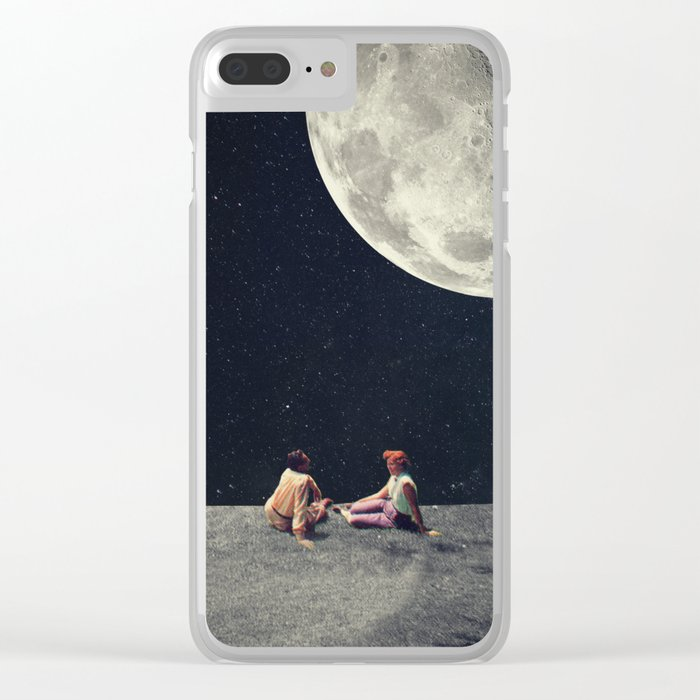 I Gave You the Moon for a Smile Clear iPhone Case