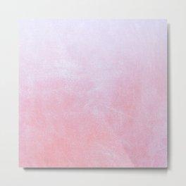 Flamingo Ombre Metal Print