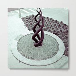 Transpire sculpture Metal Print