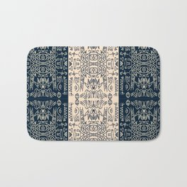 Tribal Totem Pole Bath Mat