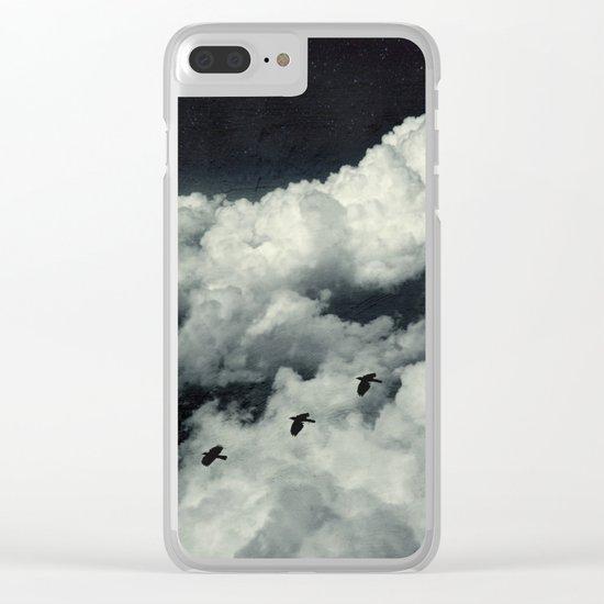 A Bird's Dream Clear iPhone Case