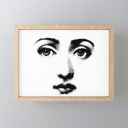 Lina Cavalieri Framed Mini Art Print