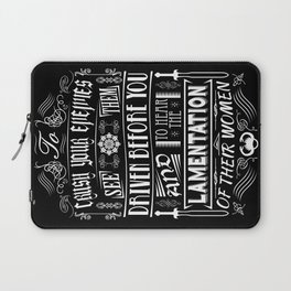 What is best in life... Laptop Sleeve
