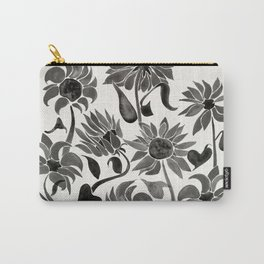 Sunflowers – Black Palette Carry-All Pouch