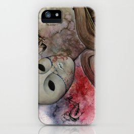 Modern and tradition iPhone Case