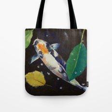 Kumonryu Koi Art Tote Bag