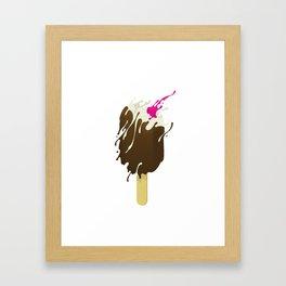 I scream! Framed Art Print