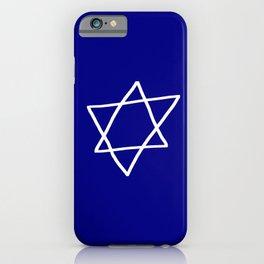 Star of David 17- Jerusalem -יְרוּשָׁלַיִם,israel,hebrew,judaism,jew,david,magen david iPhone Case