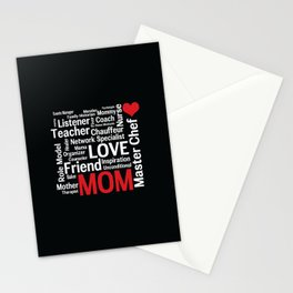 World's Best Mom Stationery Cards