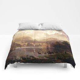 Albert Bierstadt - Among the Sierra Nevada, California Comforters