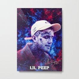 Lil Peep Metal Print