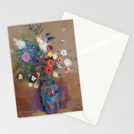 Odilon Redon - Bouquet of Flowers (1900-05) Stationery Cards