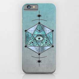 Sacred Geometry Eye Of Protection iPhone Case