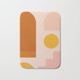 Abstraction_SHAPES_Minimalism_01 Bath Mat