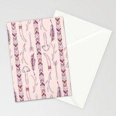 Tribal Mushroom Stationery Cards