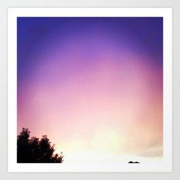 Ombre Sky Art Print