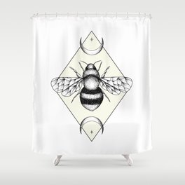 Bee Confident Shower Curtain