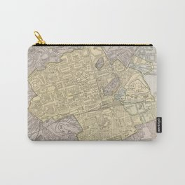 Vintage Map of Edinburgh Scotland (1901) Carry-All Pouch