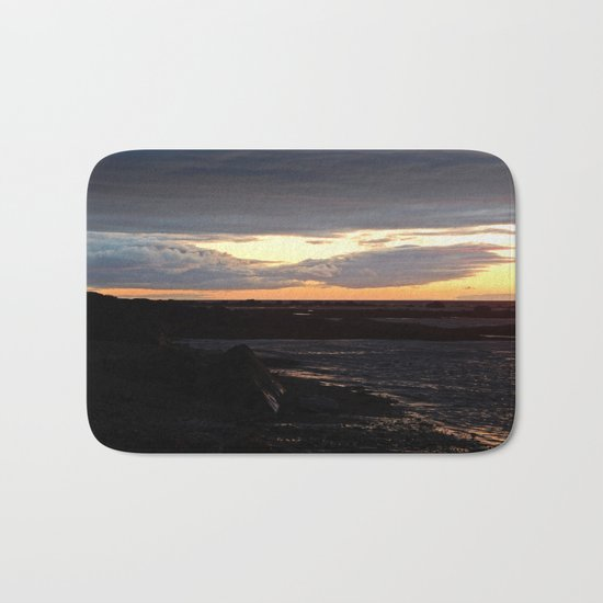 Sunset on the St-Lawrence Bath Mat