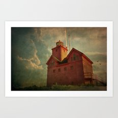Light on the Lake Art Print