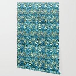 """William Morris """"Dragons"""" Wallpaper"""