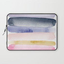 Brushstroke Ombre Abstract Laptop Sleeve