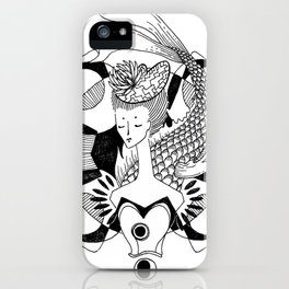 Fishy Lady iPhone Case
