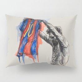 Messi celebration Pillow Sham
