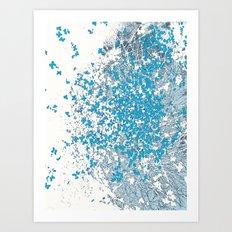 Lilyfly Art Print